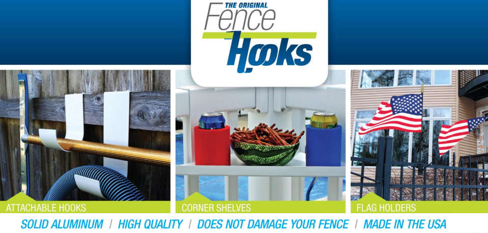 Fence & Pool Hooks Made in USA