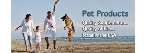 Pet Vitamins made in USA.