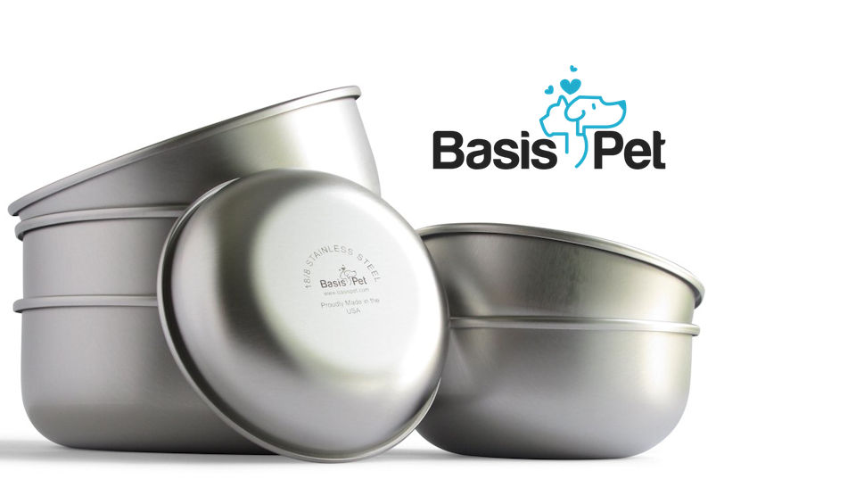 Stainless Pet Bowl Made in USA
