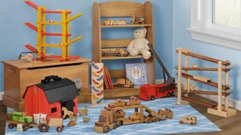 Wood Toys Made in USA