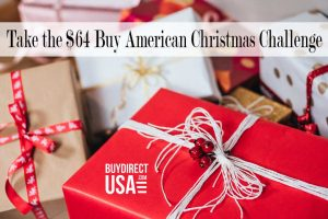 $64 Dollar Buy American Christmas Challenge