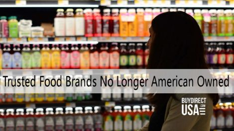 Food Brands No Longer American Owned