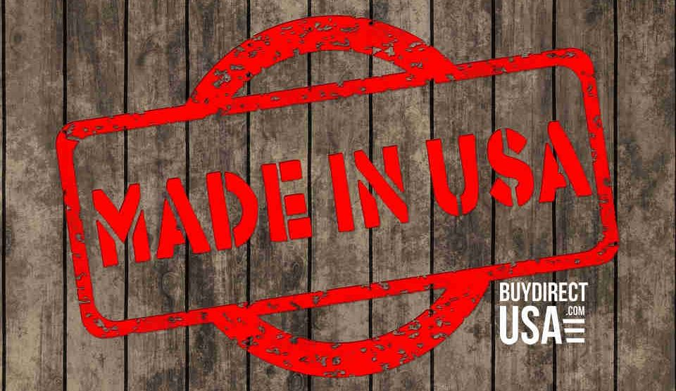 Supporting Made in USA