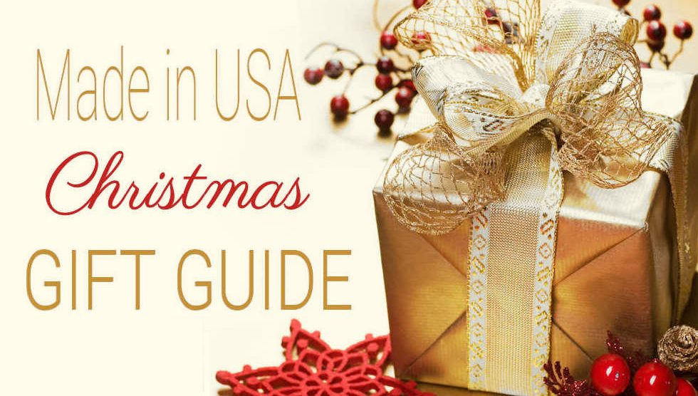 Made in USA Christmas Gift Guide