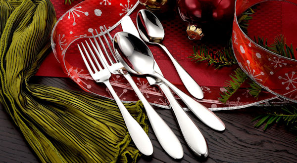 Christmas Gifts Made in USA Flatware Sets