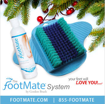 Christmas Gifts Made in USA FootMate System