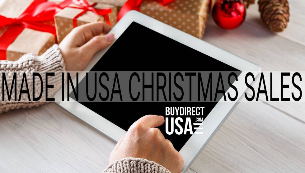 Made in USA Christmas Sales