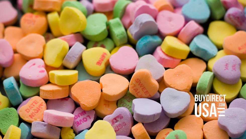 Candy Conversation Hearts Made in USA