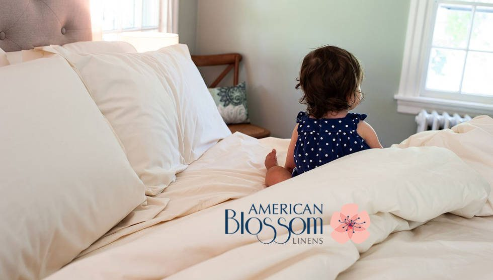 American Blossom Linens 100 Usa Organic Cotton Bedding Now Available To Consumers