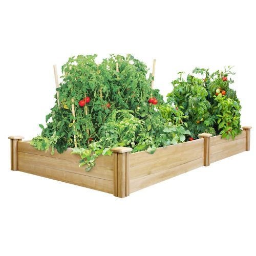 Greenes 4 Ft. X 8 Ft. X 10.5 In. Cedar Raised Garden Bed Made in USA