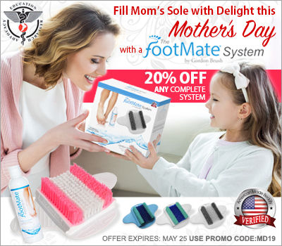 The FootMate System Mothers Day Gift idea.