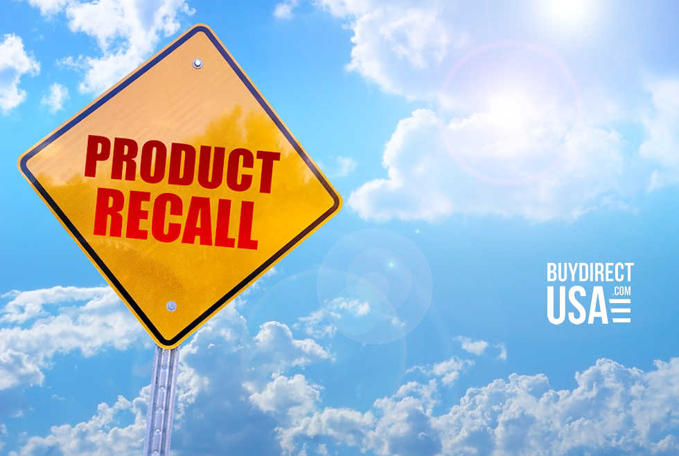 Product Recalls March 2019