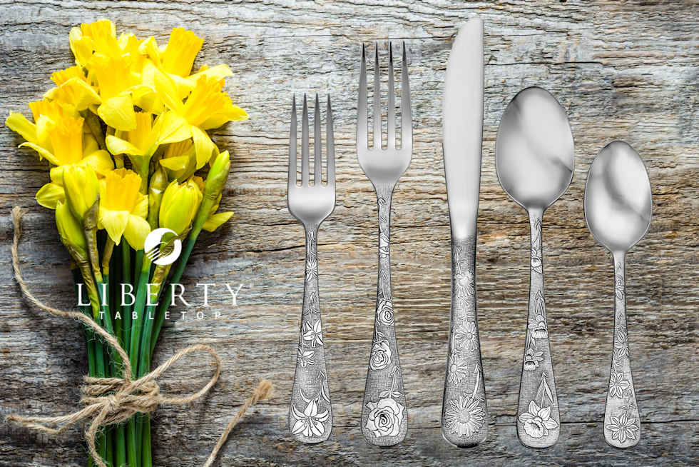 American Garden Flatware Collection