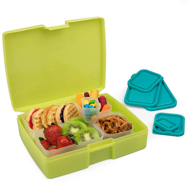 Bento Lunch Box with Removable Containers