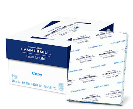 Hammermill Copy Paper Made in the USA
