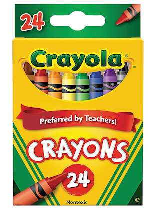 Crayola Crayons Made in the USA for Back to School