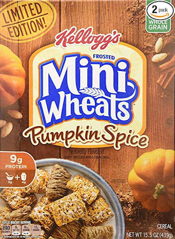 Pumpkin Spice Frosted Mini Wheats