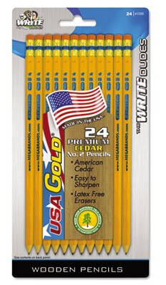 Pencils Made in the USA