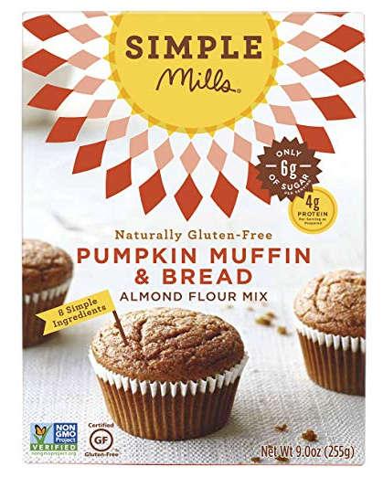 Simple Mills Gluten-Free Pumpkin Muffin & Bread Mix