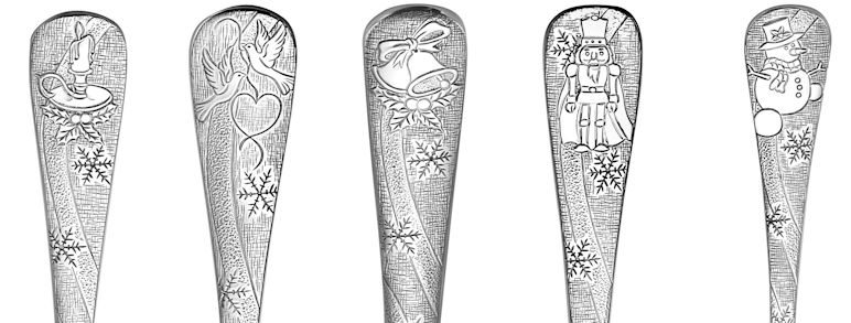 Liberty Tabletop Christmas Flatware Made in the USA