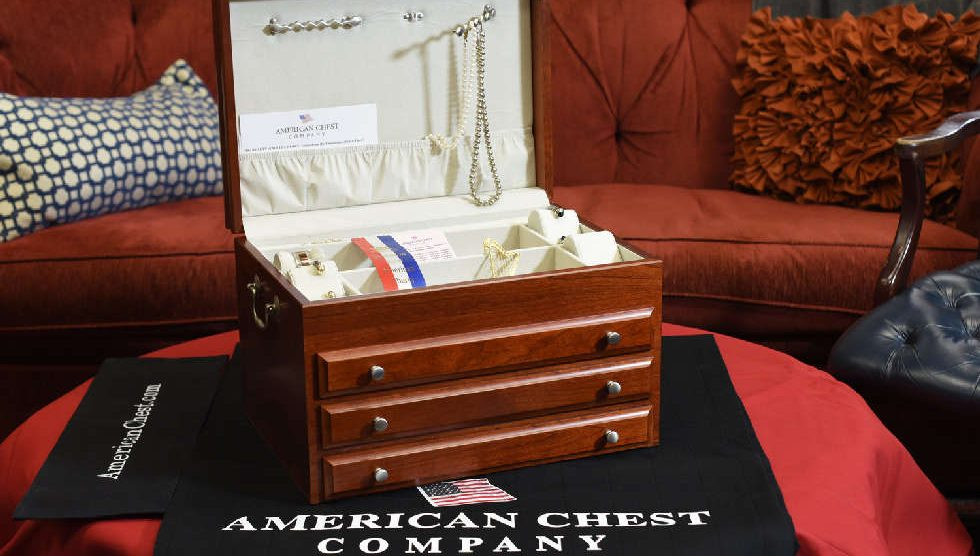 Jewelry Chests Made in USA