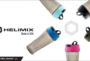 Blender Bottle Made in USA by Helimix