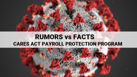 Cares Act Payroll Protection Program Facts