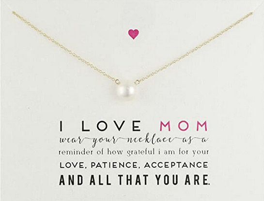 Mother's Day Necklace handcrafted in the USA.