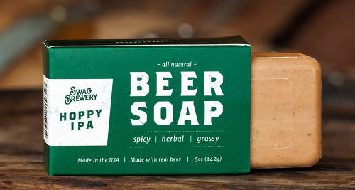 Made in USA Fathers Day Gift Beer Soap