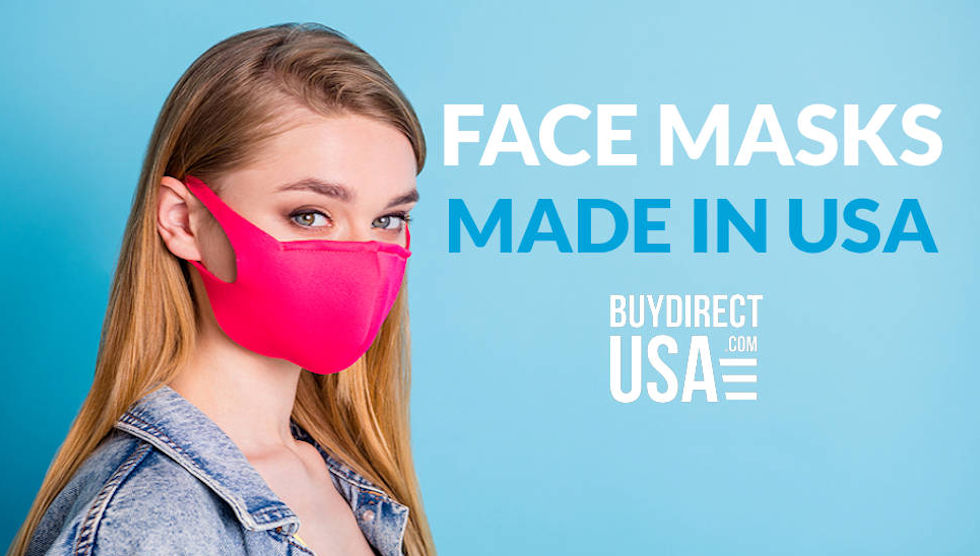 Face Masks Made in the USA. Your source for American Made Face Masks