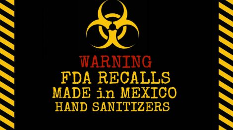Don't Buy Made in Mexico Hand Sanitizers