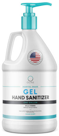 Hand Sanitizer Gel Made in the USA