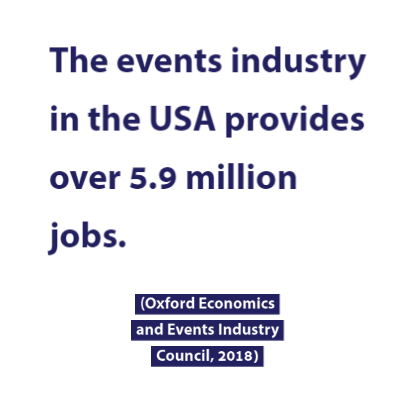 USA Events Industry Provides 5.9 Million Jobs