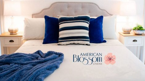 Organic Sheets Made in USA by American Blossom Linens