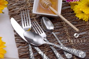 Flatware Made in USA Liberty Tabletop New Honey Bee Collection
