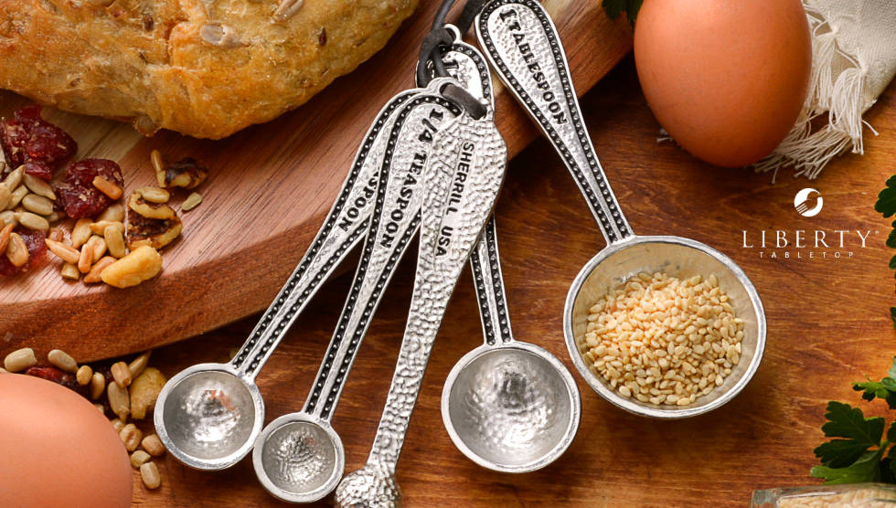 Measuring Spoons Made in the USA by Liberty Tabletop