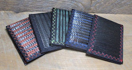 Wallets Made in the USA by RAGGEDedge Gear.